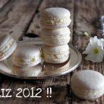 Macarons de vainilla… y Feliz año 2012 !!
