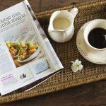 La cocina mágica en la revista Cocina Diez de Octubre!! y un cake integral de calabacín y manzana para celebrarlo con todos