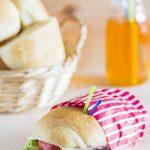 Pan de leche tierno para bocadillos (pasando un poco del típico pan de molde)