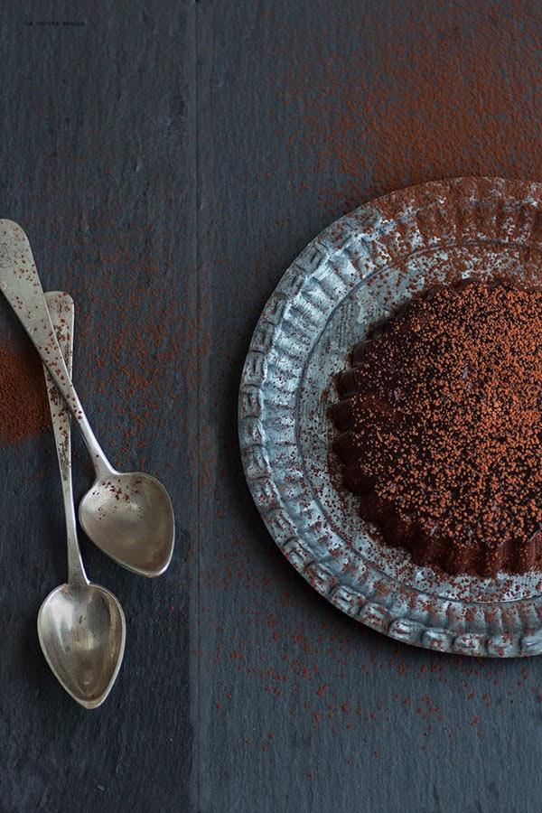 Panna cotta de puro cacao
