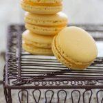 Macarons con lemon curd